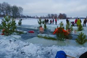 Ледяная купель на Северском Донце