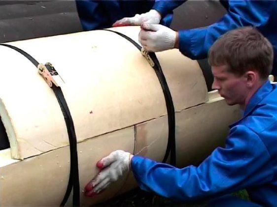 Трубы большого диаметра для теплоцентрали