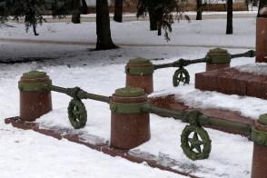 Памятник генералу Волоху П.В. — акт вандализма