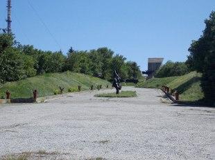 Мемориал павшим Героям ВОВ на горе Кремянец в Изюме