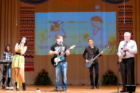«Далекі Мрії» на концерте «Воодушевленные Верою в Украину» — творческий отчет в Изюме, 14 марта 2017 года