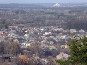 Веприцкий хутор, лес, изюмский элеватор