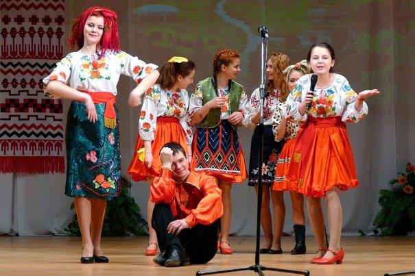 Большой концерт второго этапа областного смотра конкурса творческой самодеятельности ИПЛ под девизом «Воодушевленные Верою в Украину».