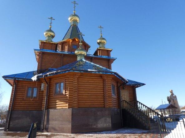 Храм в честь Песчанской иконы Божией Матери