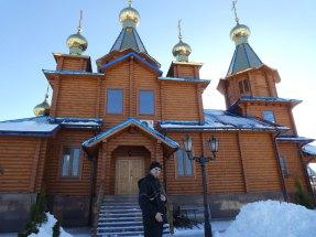 Игорь Мосюр у храма