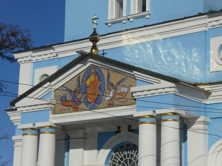 Фрески над главным входом