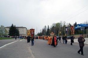 Город Изюм, улица Соборная - главная улица города