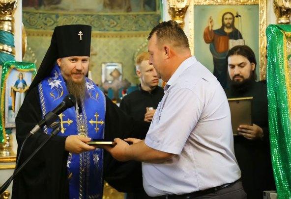 Медалью Песчанской иконы Божьей Матери I степени был награжден Изюмский городской голова Валерий Марченко