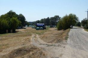 Дорога к месту проведения фестиваля «Дорога на Схід» в Изюме