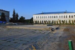 Реконструкция Главной площади города Изюм