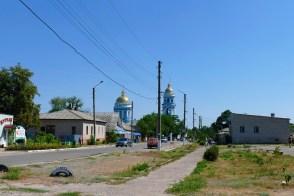 Улица Московская в Изюме