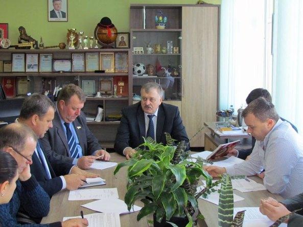 Заместитель председателя Харьковской облгосадминистрации (ХОГА) Евгений Шахненко