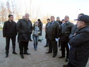 Городские власти совместно с руководством ХОГА контролируют ход выполнения работ в ИЦГБ