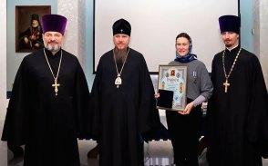 Управляющий Изюмской епархией митрополит Изюмский и Купянский Елисей