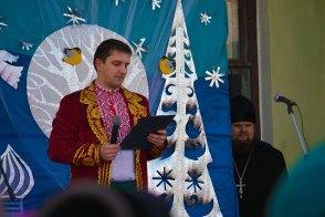 Ведущий праздника - Максим Кондратьев