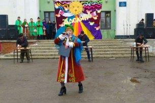 Ирина Овередная в роли кумы на празднике Масленицы 2018