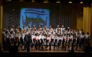 Сводный хор под управлением и аккомпанемент Редько Григория Федоровича