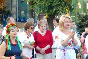 Тамара Федоровна на праздновании Дня Независимости в Изюме