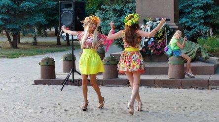 Праздничный концерт в Изюме посвященный Дню Независимости Украины и Государственного Флага