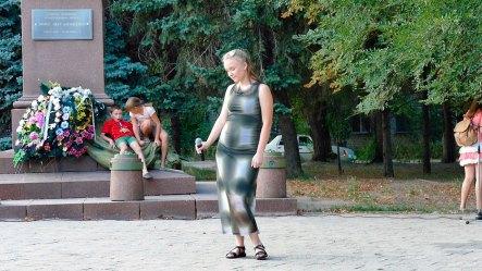 23 августа 2018 года, площадь у памятника Волоху по проспекту Независимости