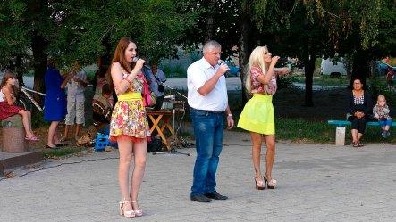 На праздничном концерте посвященного Дню Независимости Украины и Государственного Флага