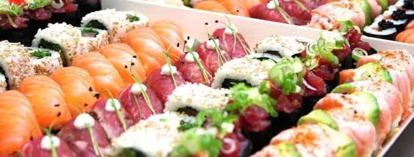 Sushi: The Japanese fast food