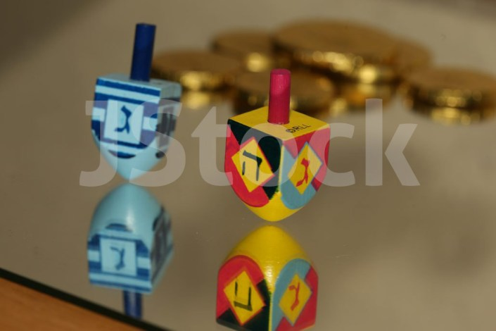Jewish Stock Photos - Dreidel
