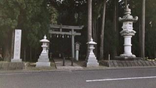 劔神社に行ってきました 福井県織田町にある織田信長ゆかりの神社のおもかる石
