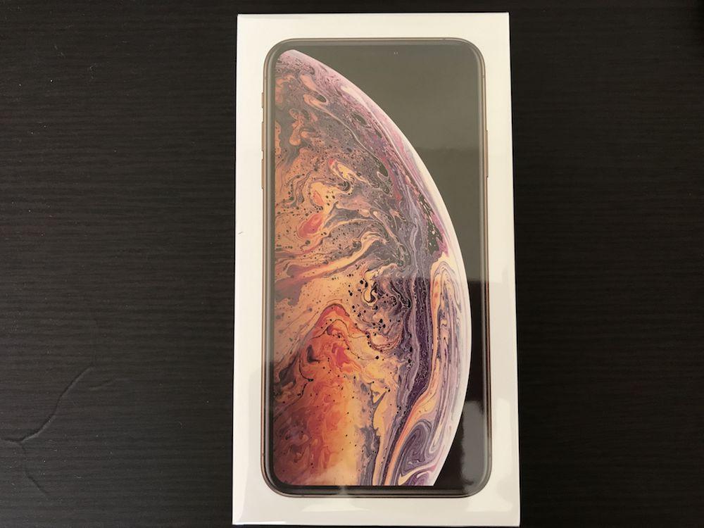 iPhoneXS MAX ゴールド