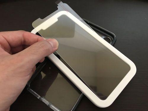 nimaso iphoneXS MAX ガラスフィルム