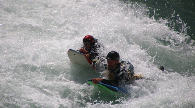 Wild River Boarding- Kawarau River