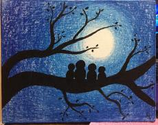 family-nightscape