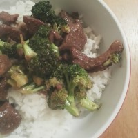 Crockpot Beef & Broccoli