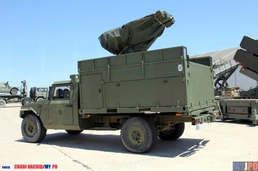 The Spanish EADA URO VAMTAC ST5 MISTRAL ATLAS at NTM 2016