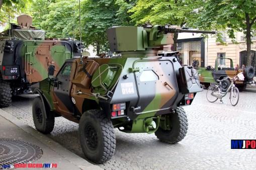 A French Army VBL RECO of the 501e Régiment de Chars de Combat (501e RCC), Paris, July 14, 2016.