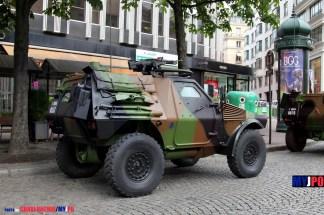 A French Army VBL of the 9e Brigade d'Infanterie de Marine (9e BIMa), Paris, July 14, 2016.