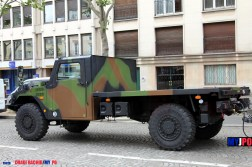A French Army RTD Sherpa HD & SYRACUSE III trailer of the 40e Régiment de Transmissions (40eRT), Paris, July 14, 2016.