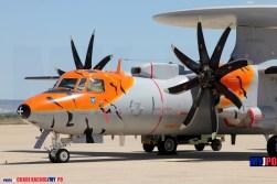 The French Flottille 4F E-2C Hawkeye, NATO Tiger Meet, Zaragoza Air Force Base, 05/2016.