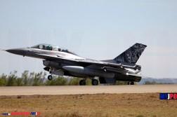 The Royal Norwegian Air Force 338 Skv F-16B MLU Fighting Falcon, NATO Tiger Meet, Zaragoza Air Force Base, 05/2016.