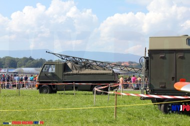 The Swiss Air Force Bucher Duro Katapultw at AIR14, Payerne, September 2014.