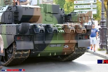 French Army Leclerc MBT of the 12e Régiment de Cuirassiers (12e RC), Place de la Nation, Paris, July 14, 2011.