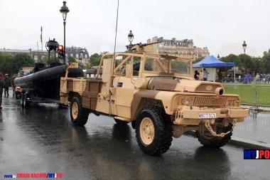 French Navy VLRA TPK 4.36 STL PATSAS & Zodiac ETRACO of the Base des Fusiliers Marins et des Commandos marine (BFMC), Esplanade des Invalides, July 14, 2010.
