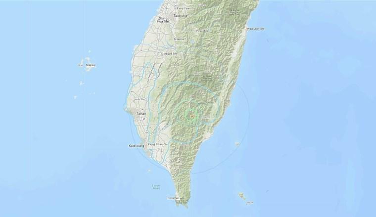 Kaohsiung 2019 Earthquake