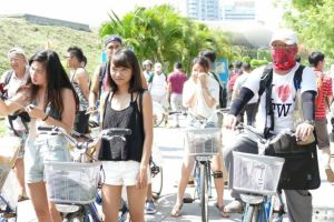 Kaohsiung Event Bikini Bike Ride