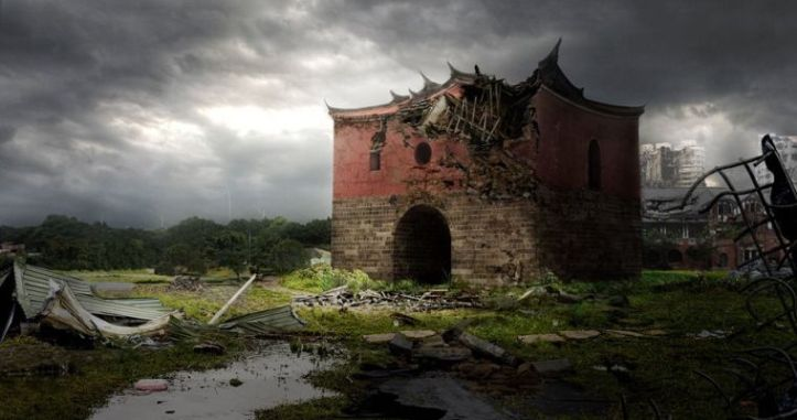 Jill Wu Famous Tainan Gate for My Kaohsiung