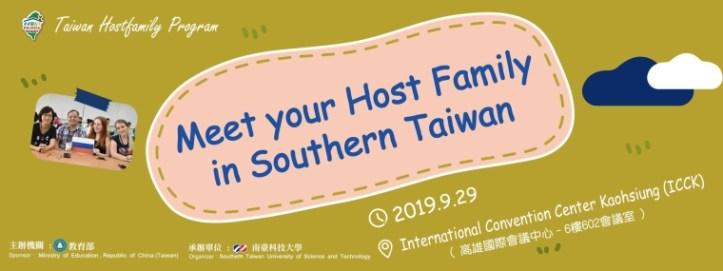 Kaohsiung Taiwan Host Family Program Event