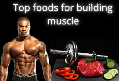 foods for building muscle