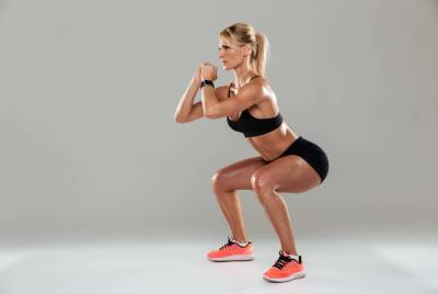 knee pain with squats