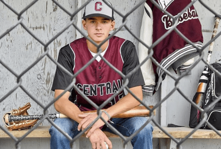 Bryce Kerkman remembers running to his sister, Kayla, telling her he earned a varsity spot on the Westosha Central baseball team as a sophomore (Submitted/The Report)