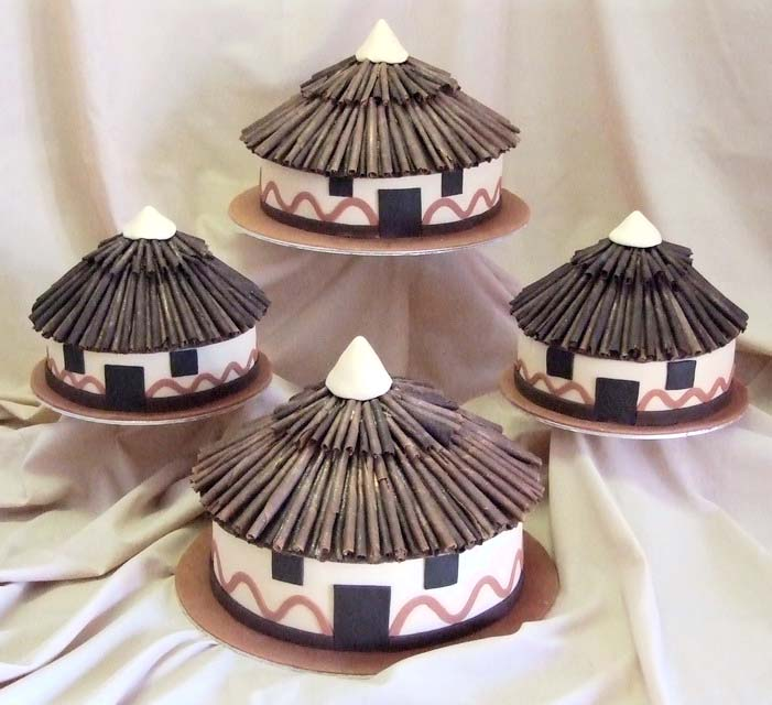 Adding an African touch to your wedding cake